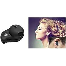 Senhai S530 - Manos libres Bluetooth para móvil (con micrófono, A2DP), negro
