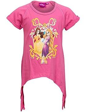 Mädchen T-Shirt, DISNEY Print Shirt Prinzessin Print T-Shirt