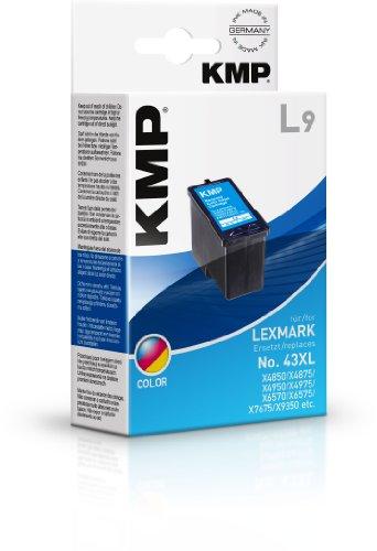 Preisvergleich Produktbild KMP Tintenkartusche für Lexmark X9350, L9, color