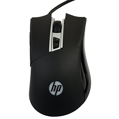 HP M220 Wired USB Optical Gaming Mouse (Black)