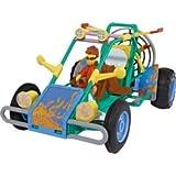 Simba - Matt Hatter - Pack de 2 vehículos : Buggy de Dunas y Hover Cab
