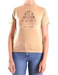 Belstaff Mujer MCBI039014O Marrón Algodon T-Shirt