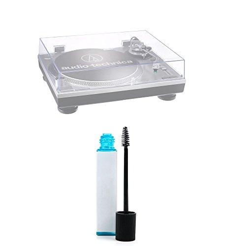 Duragadget Brosse de Nettoyage pour Aiguille de Platine de Audio-Technica AT-LP60USB (AT-LP60-USB), AT-LP120USB (AT-LP120-USB), AT-LP1240-USB platines vinyles + Liquide de Nettoyage (20ml)