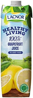 Lacnor Health Living Grape Fruit Juice - 1 Litre
