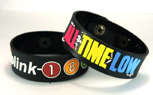 BLINK 182 e, ALL TIME LOW BKAT 2 (2x) Bracciale, Mix