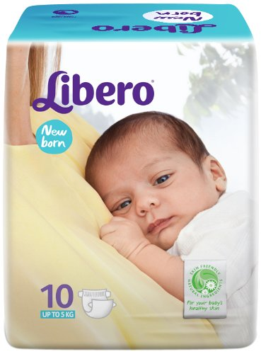Libero Open New Born Size Diapers (10 Counts)