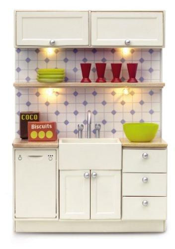 Lundby 60.2046.00 - Muebles de Cocina Småland para casa de muñecas