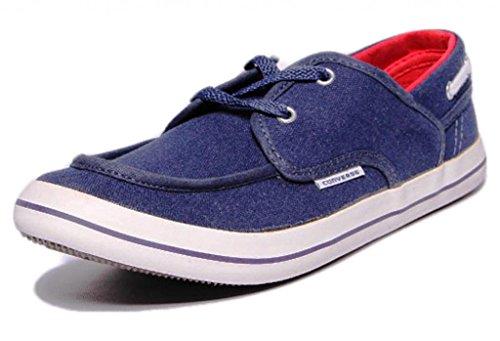 Converse Unisex 111511 Navy Canvas Casual Shoes – 4 UK 41SmH W0rgL