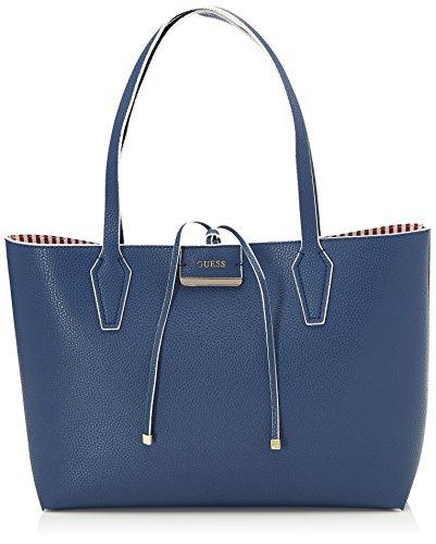 Guess Hobo, Borsa a Spalla Donna, Blu (Blue), 12.5x27x42.5 cm (W x H x L)