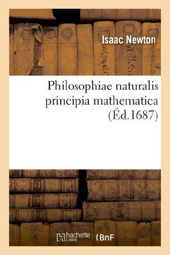 Philosophiae naturalis principia mathema...