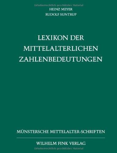 Lexikon der Mittelalterlichen Zahlenbedeutungen