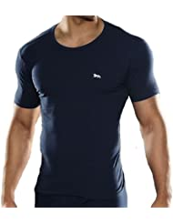 camiseta interior ropa interior Lonsdale Hombre Camiseta azul - bleu, M