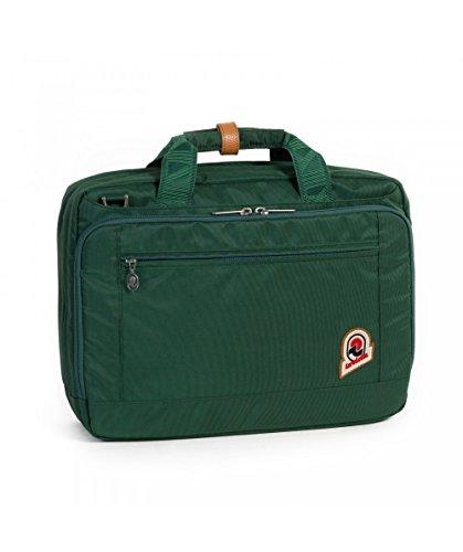 Borsa lavoro - INVICTA OFFICE 13'' Verde - porta pc e tablet fino a 13'' - Rain Cover