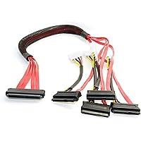wrdxc Cable Interno SAS 32 Pines SFF-8484 a 29 Pines SAS SFF-8482 Disco Duro 60 cm