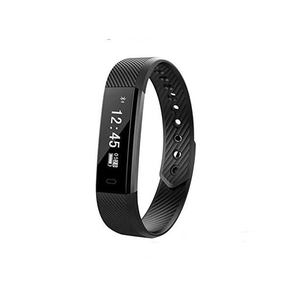 HUIGE Fitness Tracker Smart Watch Actividad Tracker Deportes Pulsera, podómetro calorías Paso Contador sueño Monitor… 2