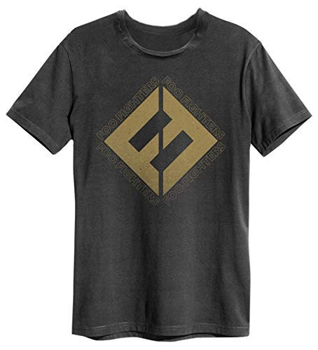 Amplified Foo Fighters Concrete and Gold Mens T-Shirt (Medium)