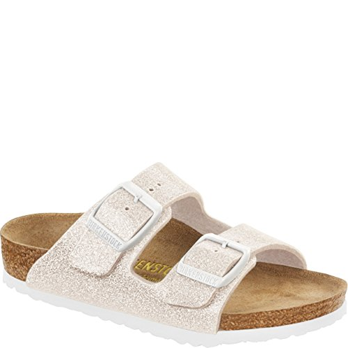 Birkenstock Unisex Kinder Arizona Sandalen, Magic Galaxy White Weiß (Magic Galaxy White)
