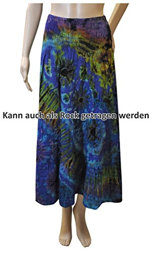 lässig luftig Batikmode Shirt Top Rock Pluderhose 42484 + 42481 - Shirt+Rock