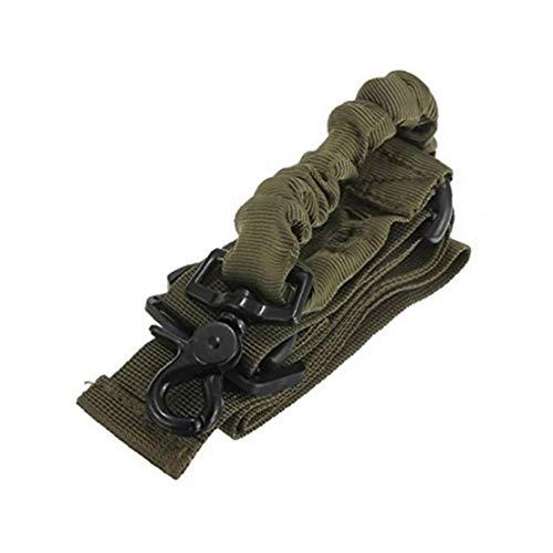 Tactical Sicherheit Militär Tragegurt Single Point Sling Adjustable Jagd-Riemen-System Strap Mit Schnalle Lanyard Strap Armee-Grün Outdoor-Produkte Und Zubehör -