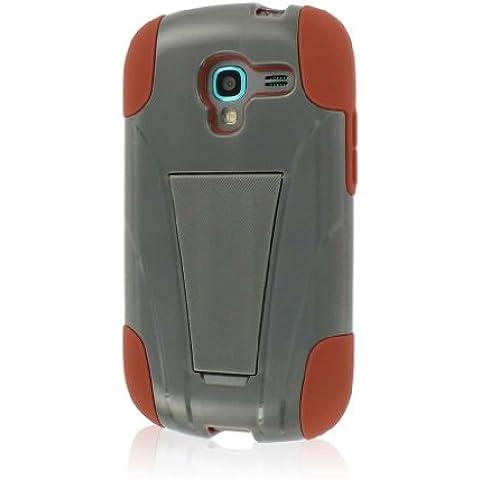 MPERO IMPACT X Serie Cavalletto Case Custodia Custodia per Samsung Galaxy Exhibit T599 - Sandstone / Gray