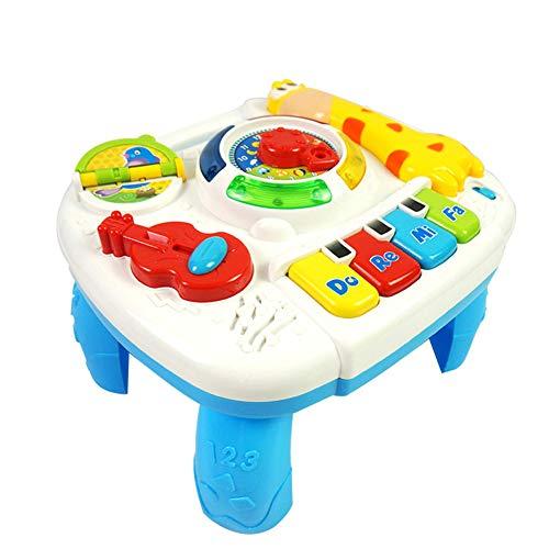 0Miaxudh Entdecken Musik Spielen Tisch, Kinder Babys Giraffe elektrische Musik Lernen Spielen Tisch, Mini klaviertastatur Spielzeug