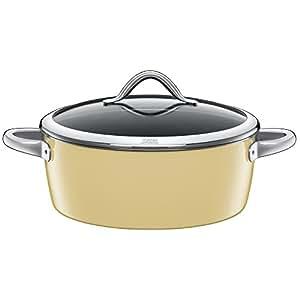 silit vitaliano casserole avec couvercle en verre 16 cm vanille 28 cm vanille. Black Bedroom Furniture Sets. Home Design Ideas