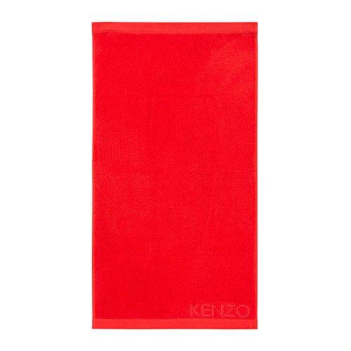 kenzo-serviette-de-bain-kz-iconic-rouge-55-x-100-cm