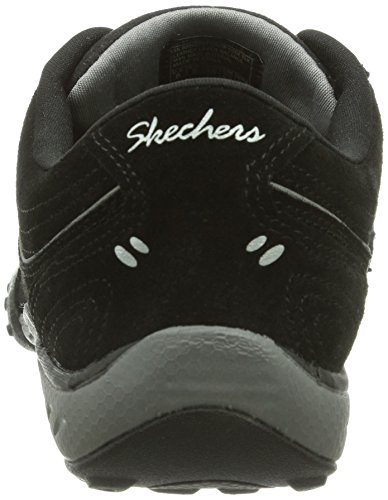 Skechers Breathe-Easy Damen Sneakers Schwarz (Blk)