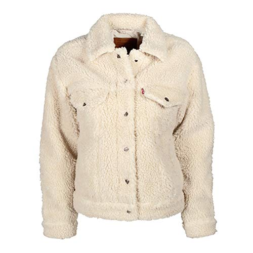 Levi's  All Over Sherpa Trucker W Jeansjacke cloud cream