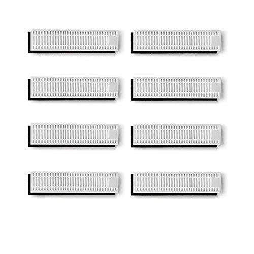 Zealing Filter Hepa Ersatz-Set für Ecovacs Deebot Slim / Slim2, Zubehör, 8 Paar -