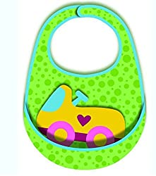 Imported and new multifunctional meal kids Bib toy