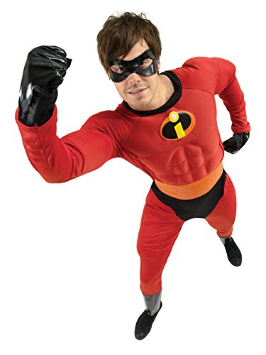 Superhelden Rote Schwarze Und Kostüm - Disney Mr. Incredible Superhelden Kostüm Lizenzware rot schwarz M/L