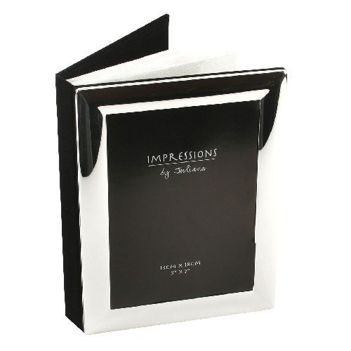 Personalised 5x7 Silver Plated Photo Frame And Album Engraved Free