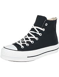 Converse Ctas Lift Hi Black White, Sneaker a Collo Alto Unisex – Adulto
