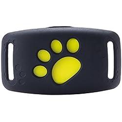 Seguimiento de MiniPet GPS, buscador inteligente inalámbrico WIFI Bluetooth 4.0 Tracer GPS Localizador Etiqueta de alarma de alarma de la cartera de mascota perro rastreador compatible para teléfono iOS / Android sistema