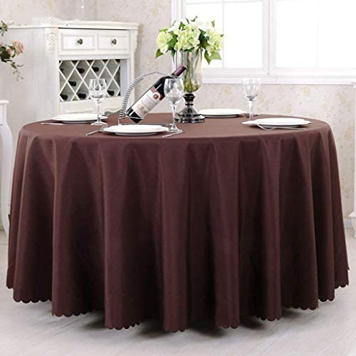 WXFC Tovaglia biancheria da cucina Round Hotel tavoli da da da caffè salotto alla moda Coloreeee   Un, Dimensione   rossoondo- 260cm b60321