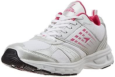 Blitz White Canvas Running Shoes
