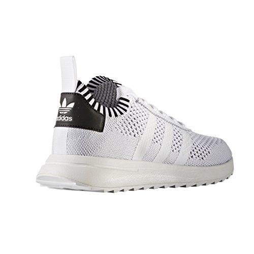 Adidas Primeknit Flashback Flb Bianco E Verde Scarpe Da Corsa Per ... 7a26b843da8