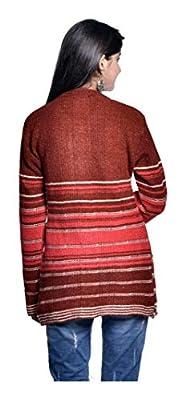 Pilot Full Sleeve Women's Long Woolen Cardigan