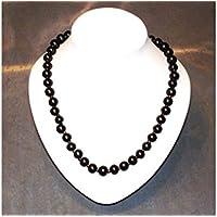 Schungit Halskette golden,ca. 55cm, 90g, poliert, mit ZERTIFIKAT! preisvergleich bei billige-tabletten.eu