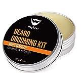 MayBeau Beard Balm Bartcreme Bart Balsam natürliches Bartwachs für perfekte Bartpflege(60g)