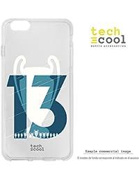 Funnytech® Funda Silicona para iPhone 7 Plus [Carcasa Flexible Resistencia y Definición] Copa