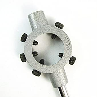 Métal 55mm réglable Diamètre Die poignée ronde Stock Titulaire