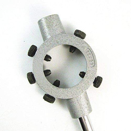Metallo regolabile 55 millimetri Diametro Die maniglia rotonda Stock