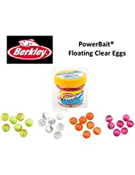 NUEVO A Europa de Berkley Powerbait® Power® Clear Huevos Natural scent- Select 4 flotante para £12