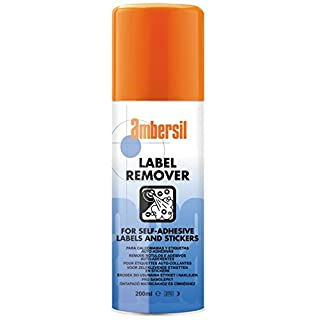 31629-AA AMBERSIL LABEL REMOVER FOR SELF-ADHESIVE LABELS & STICKERS 200ML
