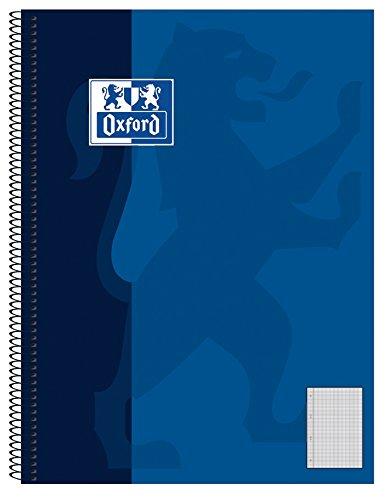 Hamelin Paperbrands 384508028 - Lote de 5 libretas de cuadros (DIN A5, 80 hojas, 90 g/m², cuadros de 5 mm)