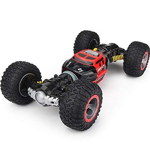 Ferngesteuertes RC Auto Spielzeug Auto Gblife 2,4 GHz 360° Drehung RC Racing Buggy Spiegeln Doppelseitiges Fahren High Speed Stunt Autos Spielzeug Geschenke für Kinder ab 8 Jahre Alt,Red
