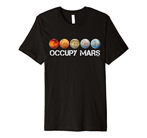 Occupy Mars T-shirt Terraform Shirt -