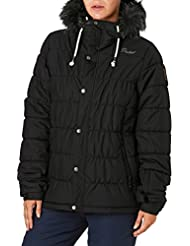 Protest 6611062-290-L-40 Ladies Semmy True Black Snow Jacket - Size L (40)